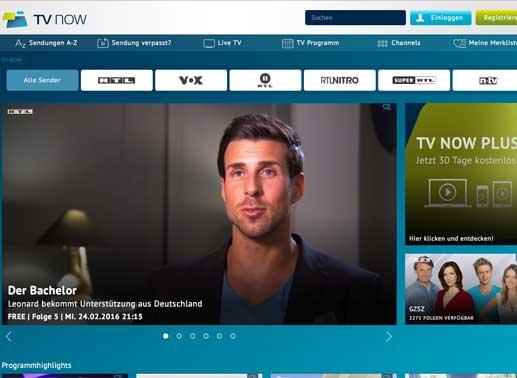 Tv Now Registrieren