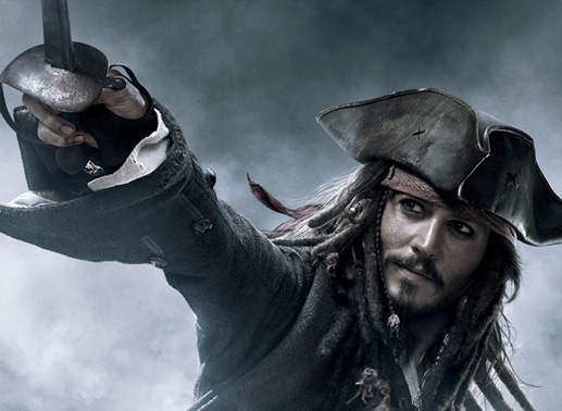Johnny Depp ist Captain Jack Sparrow. Bild: Sender