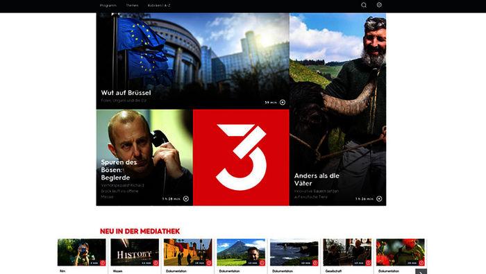 3sat Livestream Mediathek
