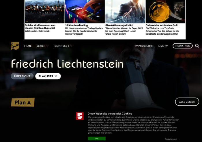 Mediathek Tele5