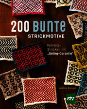 200 bunte Strickmotive