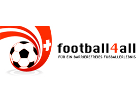 Logo der Plattform football4all. Bild: football4all
