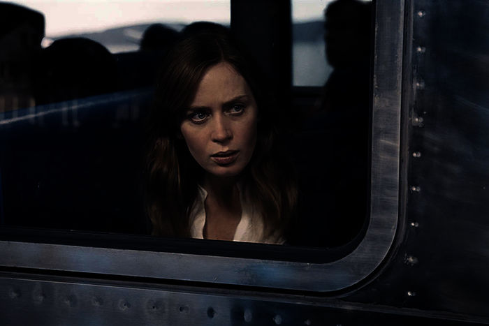 "Emily Blunt in ""Girl on the Train"". Bild: Sender"